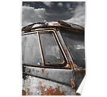 'Patina' VW Bus Poster