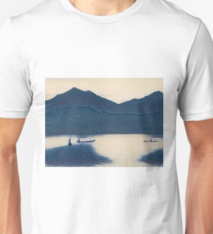 Blue Series #1 Bali Fishermen Unisex T-Shirt