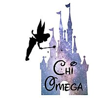 Chi Omega Disney Castle Photographic Print