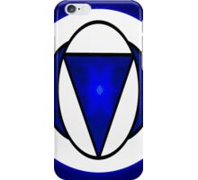 Deep Blue Awareness Abstract Chakra Art  iPhone Case/Skin