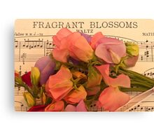 Fragrant Blossoms Canvas Print