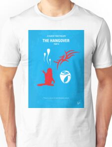 No145 My THE HANGOVER Part II minimal movie poster Unisex T-Shirt
