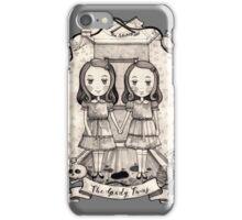 grady twins iPhone Case/Skin