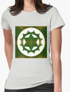 Ultimate Tranquility Abstract Chakra Art  Womens Fitted T-Shirt