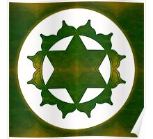 Ultimate Tranquility Abstract Chakra Art  Poster