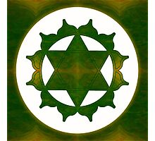 Ultimate Tranquility Abstract Chakra Art  Photographic Print