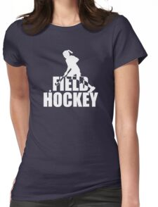 Stylish Field Hockey Womens Fitted T-Shirt