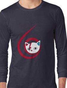 Meowie curl Long Sleeve T-Shirt