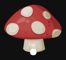 Glitch furniture roomdeco red mushroom by wetdryvac