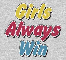 Girls always win One Piece - Long Sleeve