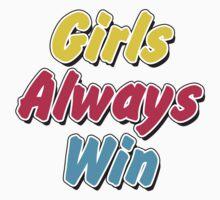 Girls always win Kids Clothes