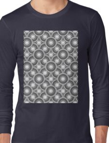 Circle print Long Sleeve T-Shirt