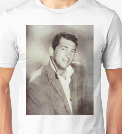 Dean Martin, Actor and Singer Unisex T-Shirt