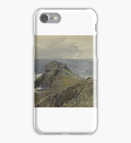 William Trost Richards (American, ). Sketchbook, English Coastal Scenery,  iPhone Case/Skin