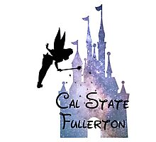 California State University Fullerton Disney Castle Photographic Print
