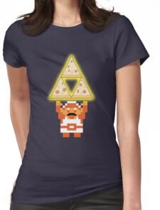 LINK THE PIZZ-FORCE Womens Fitted T-Shirt
