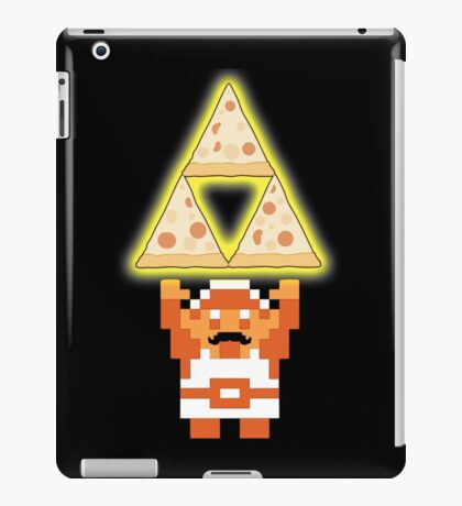 LINK THE PIZZ-FORCE iPad Case/Skin