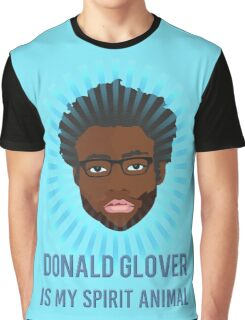 Donald Glover is my spirit animal Graphic T-Shirt
