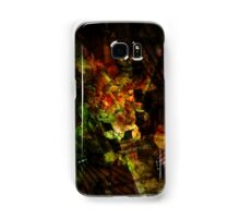 black summer Samsung Galaxy Case/Skin