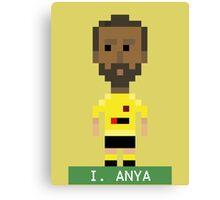 Pixel Hornets: I Anya Canvas Print