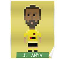 Pixel Hornets: I Anya Poster
