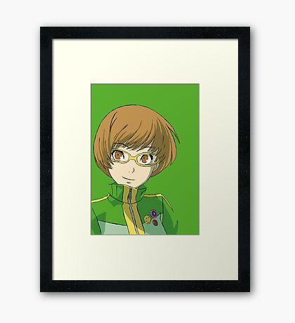 Persona 4 Pop art of Chie Framed Print