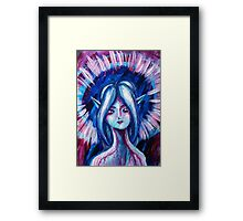 Pink Elf Framed Print