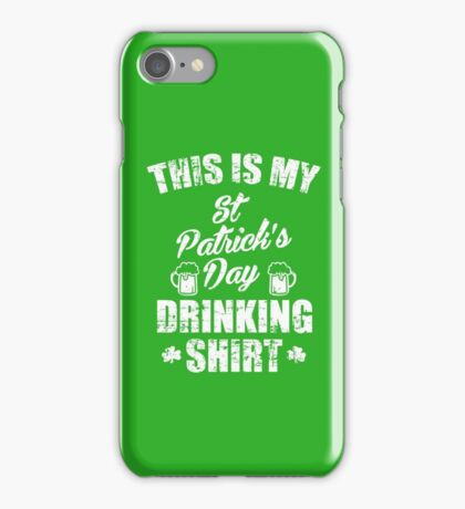 St Patrick's Day Drinking iPhone Case/Skin
