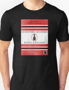 Seventeen Seconds Book Cover T-Shirt