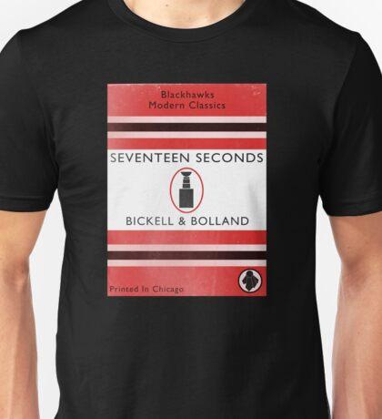 Seventeen Seconds Book Cover Unisex T-Shirt