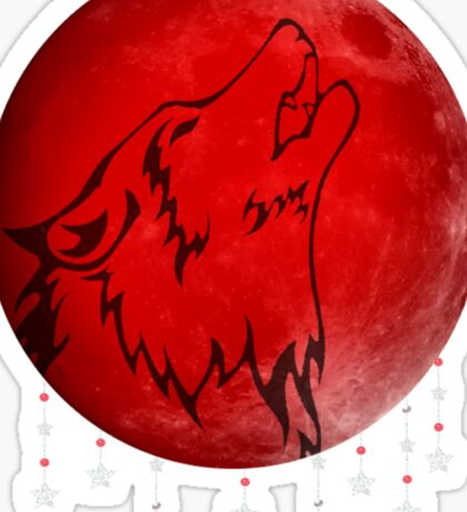 Blood Moon Sticker