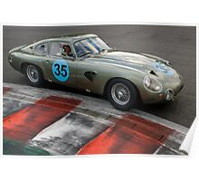 Aston Martin DB214 Poster