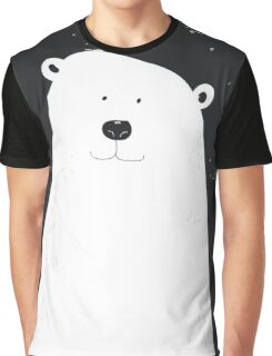 Vintage Polar Bear Graphic T-Shirt