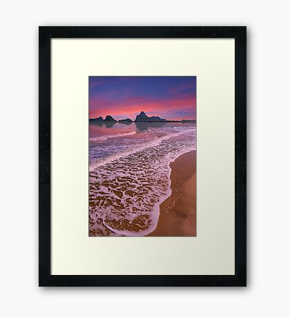 Sunset Thailand Framed Print