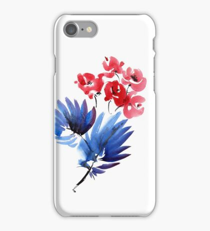 Flowers bouquet iPhone Case/Skin
