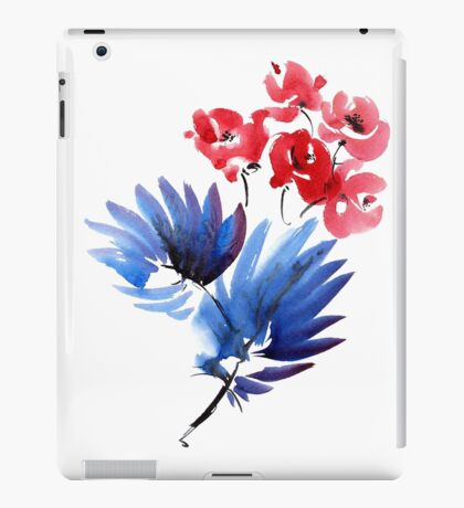 Flowers bouquet iPad Case/Skin