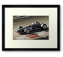 BRM P126 - 1968 Framed Print