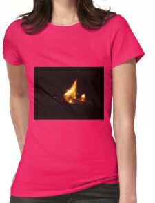 Turn on the light Womens Fitted T-Shirt