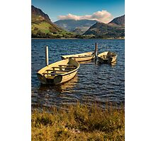 Snowdon from Llyn Nantlle Photographic Print
