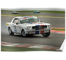 Ford Mustang MK2 Poster