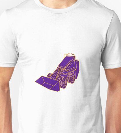 Compact Skid Steer Mono LIne Unisex T-Shirt