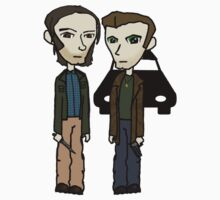 Sam & Dean 3 by sybilthorn