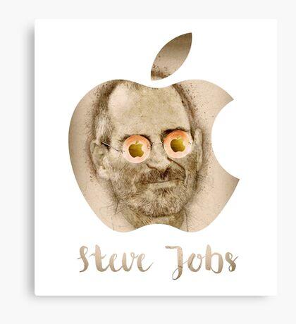 Steve Jobs - Apple Inc. Canvas Print