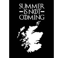 summer is not coming Photographic Print