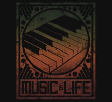 Music is Life: Piano by cluper