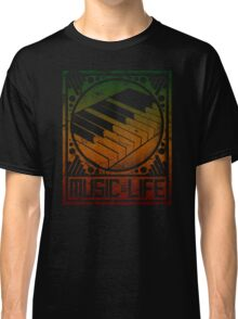 Music is Life: Piano Classic T-Shirt