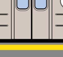 New York City Subway Train Sticker