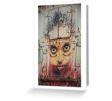 Urban Faces Greeting Card