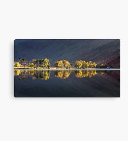 Shimmering Sentinels at Buttermere Canvas Print