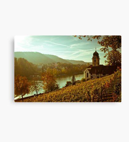 Eglisau Dorf Canvas Print